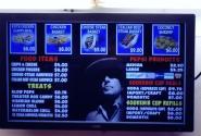 Bob Dylan at the snack bar, Kalamazoo