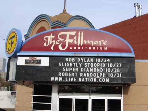 Fillmore Denver 2006 Bob Dylan